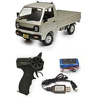 WPLJAPAN [D12] WPL 正規品 技適マーク付き 1/10スケール 軽トラ RCカー トラック バッテリー付…
