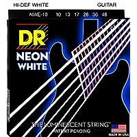 DR エレキ弦 NEON ニッケルメッキ ホワイト カラー コーテッド .010-.046 NWE-10