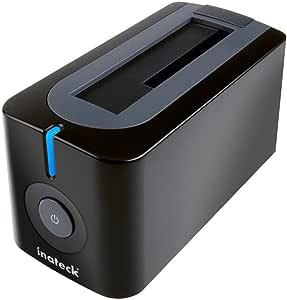 Inateck USB3.0 HDDスタンド 2.5型 / 3.5型 SATA HDD/SSD対応 ACアダプター付 (PC/Notebook/Mac使用可能、SATA3 UASPにサポート)