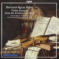 Biber: Violin Sonatas from the Kremsier Archive [Hybrid SACD] by Anton Steck (2005-07-14)