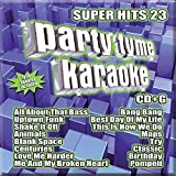 Party Tyme Karaoke - Super Hits 23 [16-song CD+G] by Various Artists (2015-08-03)