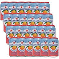 サンペレグリノ アランチアータロッサ ブラッドオレンジ 1ケース(330ml×24缶)