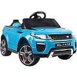 RIGO Kids Ride On Toy Car Remote Control 12V Battery-Blue
