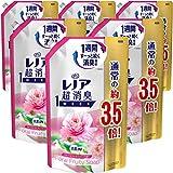 【ケース販売】レノア 超消臭1WEEK 柔軟剤 フローラルフルーティーソープ 詰め替え 約3.5倍(1390mL)×6袋