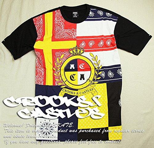 (クルックス アンド キャッスルズ)CROOKS & Castles Tシャツ LODOWN T-Shirt Mサイズ Black(ブラック)