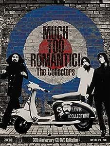 【早期購入特典あり】MUCH TOO ROMANTIC!~The Collectors 30th Anniversary CD/DVD Collection【完全受注限定生産】(CD+DVD)(オフィシャルバンドスコア付)