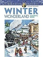 Creative Haven Winter Wonderland Coloring Book (Adult Coloring)