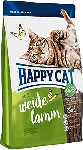 ハッピーキャット (HAPPY CAT) スプリーム ワイデ ラム (牧畜のラム) お腹の弱い愛猫に配慮 全猫種 成猫用 (300g)
