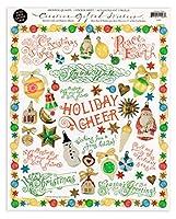 The Gifted Line 【クリスマス】 ステッカー シール (Holiday Cheer) CSHC