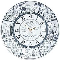 moomin × amabro SOMETSUKE CLOCK TIME GOES ON アマブロ ソメツケ クロック [ ブラック ]