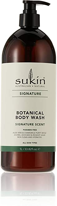 Sukin Botanical Body Wash, 1L
