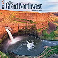 The Great Northwest 2018 Wall Calendar [並行輸入品]