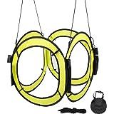 ドローン 障害物 FPV ドローン レーシング バリア キューブ ゲート RC ドローン 吊り下げ 対応 室内 屋外 (イエロー)