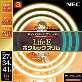 NEC LifeEホタルックスリム 電球色 スリム27W+34W+41Wパック FHC144EL-LE-SHG