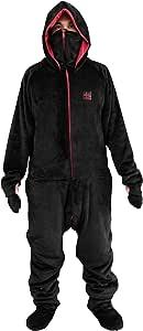 Bauhutte ゲーミング着る毛布 ダメ着4G ブラック/レッド Lサイズ HFD-L-4G-19