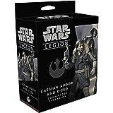 Fantasy Flight Supply Star Wars Legion Cassian Andor and K-2SO Commander Expansion