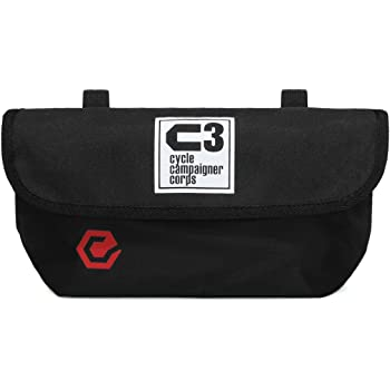 C3(サイクルキャンペイナーコープス) 自転車用フロントバッグ シースリーショルダーWIDE
