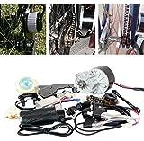 24/36ボルト250ワット電気motorized e-bike自転車変換キット(サイドマウント) 電動自転車モーターキット最安値e-bikeモーターセット (2..