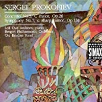 Prokofiev: Piano Concerto No. 3; Symphony No. 7 by Bergen Philharmonic Orchestra (1992-01-08)