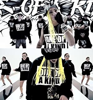 (NUGABO)ヌガボ G-dragon(BIGBANG) ONE OF A KIND Hood style Tee (BLACK女性)