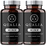 Qualia Mind Nootropics | Top Brain Supplement for Memory, Focus, Mental Energy, and Concentration with Ginkgo biloba, Alpha G