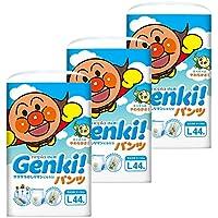 【ケース販売】 ネピア GENKI! パンツ Lサイズ(9~14kg) 132枚(44枚×3)