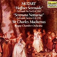 Mozart: Haffner Serenade & Serenata Notturna by Mackerras/Prague CO (2003-08-26)