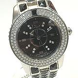 (ディオール)Dior CD112119 ダイヤベセル 16Pダイヤ クリスタル レディース腕時計 腕時計 SS レディース 中古