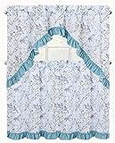 Best GoodGram®カーテン - GoodGramコテージシック鳥& Cherry Blossoms Complete 3pc。Tier & Swagフリル付きキッチンカーテンセット–アソートカラー Review