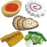 日本製 雑貨 キッチングッズ ラーメンの具箸置き 5種類セット