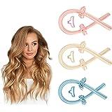 Heatless Curling Rod Curls Silk Ribbon Hair Rollers Sleeping Soft Headband Wave, Soft Headband Wave Formers Hair Curlers DIY