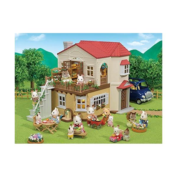 シルバニアファミリー お家 赤い屋根の大きな...の紹介画像10