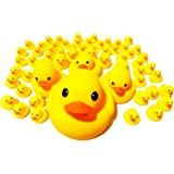 アヒルちゃん 63個 おまけ付き セット ウキウキ お風呂 (63個セット 動物のおまけ3個付き)