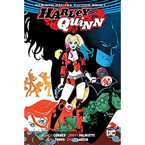 Harley Quinn: The Rebirth Deluxe Edition Book 1