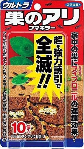 ウルトラ巣のアリ フマキラー 10個入 ×8個セット