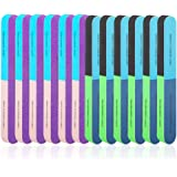 12 PCS 7 Way Nail File and Buffer Block, YIMICOO Professional Manicure Tools 7 Steps Emery Boards for Women Girls