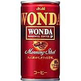 アサヒ WONDA モーニングショット (185g×30本)×3箱