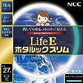 NEC 丸形スリム蛍光灯(FHC) LifeEホタルックスリム 27形 昼光色 FHC27ED-LE-SHG
