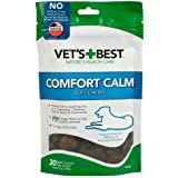 Vet's Best Comfort Calm Calming Soft Chews Dog Supplements   Dog Calming Aid Supports Dog Balances Behavior   Promotes Relaxa