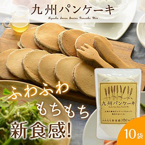 九州パンケーキ パンケーキミックス 10個セット+1個おまけつき