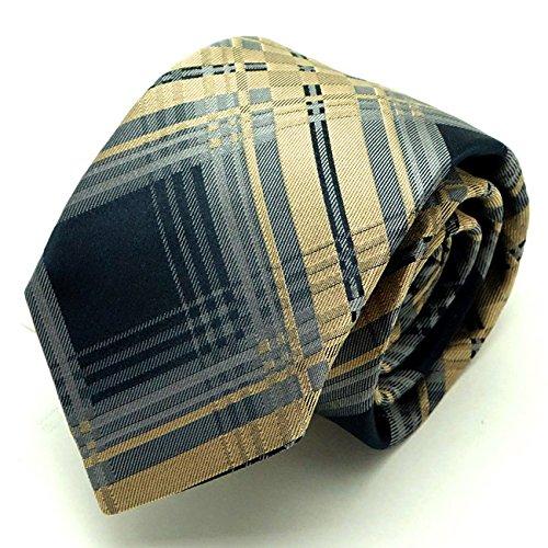 (ヴィヴィアン ウエストウッド)Vivienne Westwood 24T85-P43-1 イエロー系 剣先8.5cm シルクネクタイ [並行輸入品]