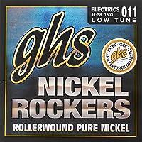 GHS Nickel Rockers 1300 Low Tuned Set 11-58 エレキギター弦×6SET