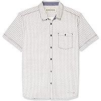 Hammersmith Men's Imperial Short Sleeve Shirt, White