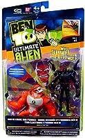 Ben 10 (ベン10) Ultimate エイリアン Alien Six Six and Rath v.1 Pack of 2 action Figure フィギュアs[並行輸入品]