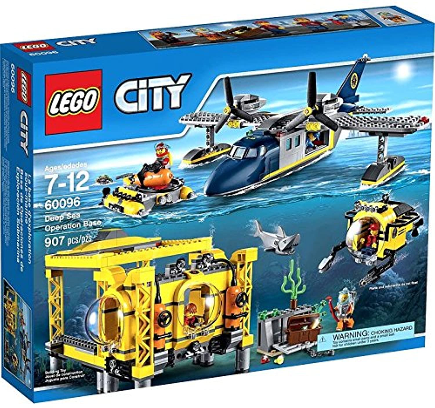 Lego 60096 City - Deep sea Operation Base by LEGO