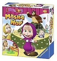 Ravensburger - Masha Hop、テーブルゲーム (212323)