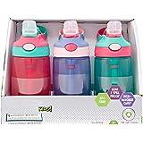 3 Pk Kids Spill Proof Autospout BPA Free Water Bottles 14oz, 414ml ?