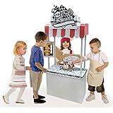 nullie 段ボールハウス おえかき 知育玩具 子供用 秘密基地 紙の家ヌリー (屋台)