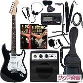 SELDER セルダー エレキギター ストラトキャスタータイプ サクラ楽器オリジナル ST-16/BK リミテッドセットプラス