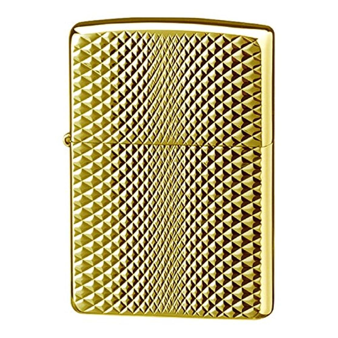 咳迅速侵略Zippo ジッポー Zippoライター ジッポライター 200 オイルライター ダイヤモンドカット ゴールド A 2EG-2D/C A